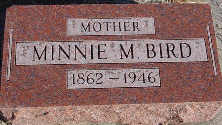 BIRD, MINNIE M. - Woodbury County, Iowa | MINNIE M. BIRD