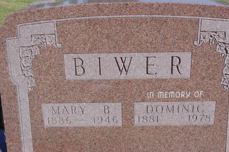 BIWER, MARY & DOMINIC - Woodbury County, Iowa | MARY & DOMINIC BIWER