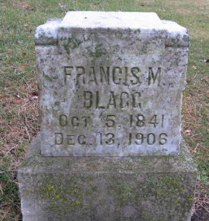 BLAGG, FRANCIS MARION - Woodbury County, Iowa | FRANCIS MARION BLAGG