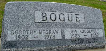 BOGUE, DOROTHY - Woodbury County, Iowa | DOROTHY BOGUE