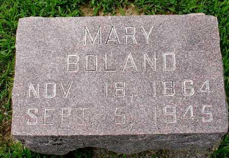 BOLAND, MARY - Woodbury County, Iowa | MARY BOLAND