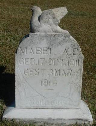 BOLLMEYER, MABEL A. C. - Woodbury County, Iowa | MABEL A. C. BOLLMEYER
