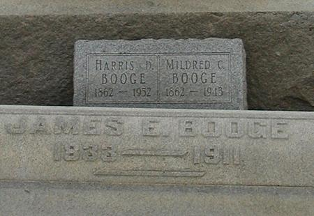 BOOGE, MILDRED C - Woodbury County, Iowa | MILDRED C BOOGE