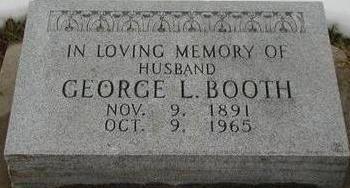 BOOTH, GEORGE L - Woodbury County, Iowa | GEORGE L BOOTH