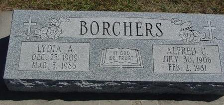 BORCHERS, ALFRED & LYDIA - Woodbury County, Iowa | ALFRED & LYDIA BORCHERS