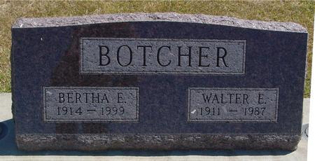 BOTCHER, WALTER & BERTHA - Woodbury County, Iowa | WALTER & BERTHA BOTCHER