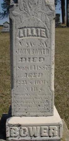 BOWER, LILLIE - Woodbury County, Iowa | LILLIE BOWER