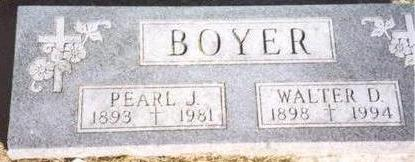 BOYER, WALTER & PEARL - Woodbury County, Iowa | WALTER & PEARL BOYER