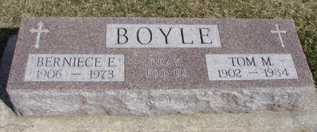 BOYLE, TOM & BERNIECE - Woodbury County, Iowa | TOM & BERNIECE BOYLE