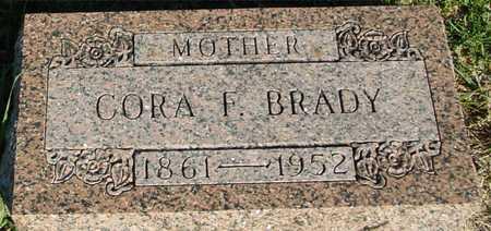 BRADY, CORA F. - Woodbury County, Iowa | CORA F. BRADY