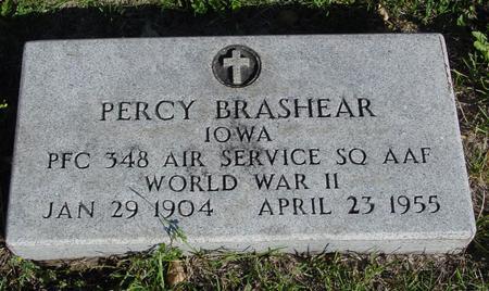 BRASHEAR, PERCY - Woodbury County, Iowa | PERCY BRASHEAR
