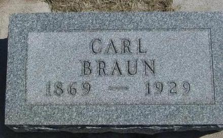 BRAUN, CARL - Woodbury County, Iowa | CARL BRAUN