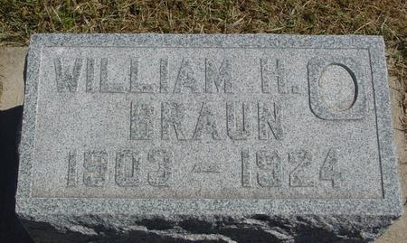 BRAUN, WILLIAM H. - Woodbury County, Iowa | WILLIAM H. BRAUN