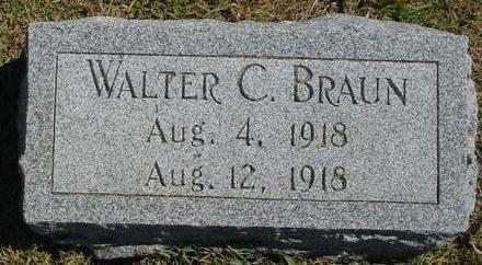 BRAUN, WALTER C. - Woodbury County, Iowa | WALTER C. BRAUN