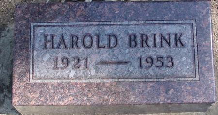 BRINK, HAROLD - Woodbury County, Iowa | HAROLD BRINK