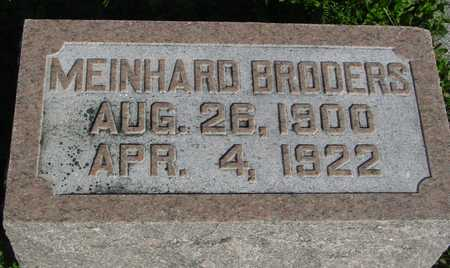 BRODERS, MEINHARD - Woodbury County, Iowa | MEINHARD BRODERS