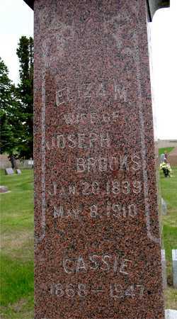 BROOKS, ELIZA M. & CASSIE - Woodbury County, Iowa | ELIZA M. & CASSIE BROOKS