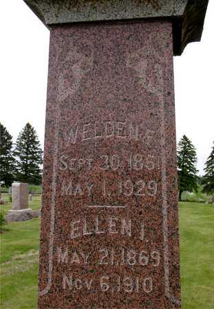 BROOKS, WELDEN F. & ELLEN - Woodbury County, Iowa | WELDEN F. & ELLEN BROOKS