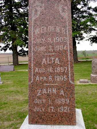 BROOKS, WELDEN, ALTA, ZAHN - Woodbury County, Iowa | WELDEN, ALTA, ZAHN BROOKS