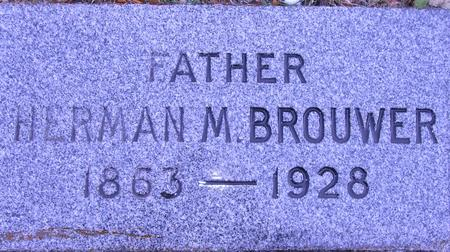 BROUWER, HERMAN  M. - Woodbury County, Iowa | HERMAN  M. BROUWER