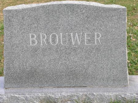 BROUWER, HEAD STONE - Woodbury County, Iowa | HEAD STONE BROUWER