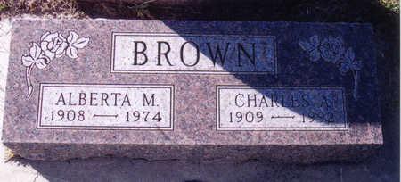 BROWN, ALBERTA - Woodbury County, Iowa | ALBERTA BROWN