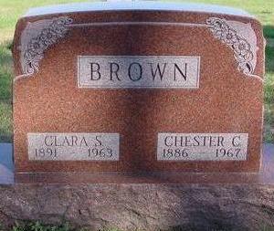 BROWN, CHESTER & CLARA - Woodbury County, Iowa   CHESTER & CLARA BROWN