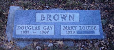 BROWN, DOUGLAS - Woodbury County, Iowa | DOUGLAS BROWN