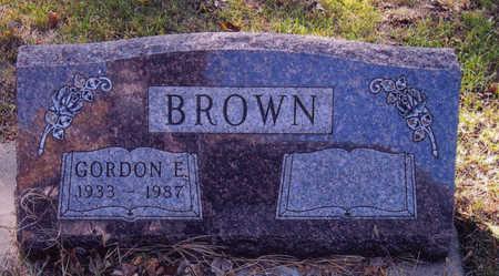 BROWN, GORDON - Woodbury County, Iowa | GORDON BROWN