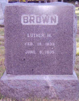 BROWN, LUTHER - Woodbury County, Iowa | LUTHER BROWN