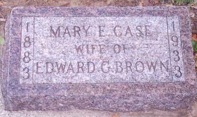 BROWN, MARY - Woodbury County, Iowa | MARY BROWN