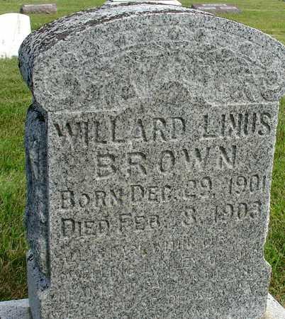 BROWN, WILLARD LINUS - Woodbury County, Iowa   WILLARD LINUS BROWN