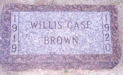 BROWN, WILLIS - Woodbury County, Iowa   WILLIS BROWN
