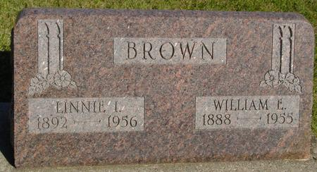 BROWN, WILLIAM & LINNIE - Woodbury County, Iowa | WILLIAM & LINNIE BROWN