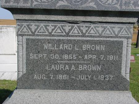 BROWN, WILLARD & LAURA - Woodbury County, Iowa | WILLARD & LAURA BROWN