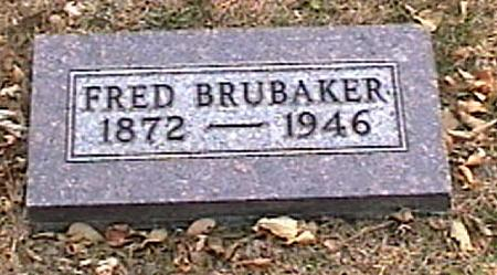 BRUBAKER, FRED - Woodbury County, Iowa | FRED BRUBAKER