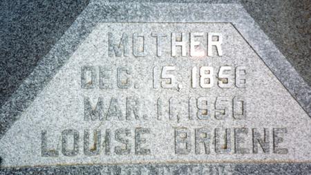 BRUENE, LOUISE - Woodbury County, Iowa | LOUISE BRUENE