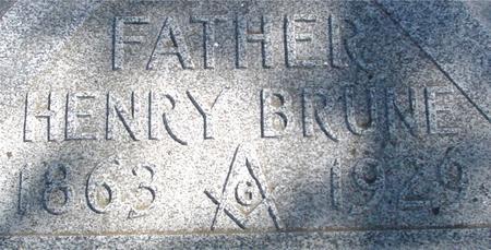 BRUNE, HENRY - Woodbury County, Iowa | HENRY BRUNE