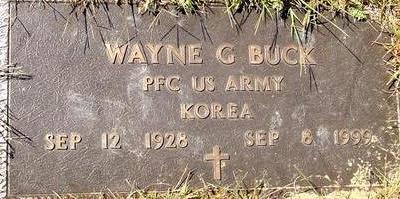 BUCK, WAYNE G. - Woodbury County, Iowa | WAYNE G. BUCK
