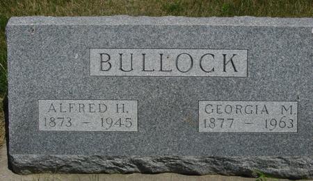 BULLOCK, ALFRED  H. - Woodbury County, Iowa | ALFRED  H. BULLOCK