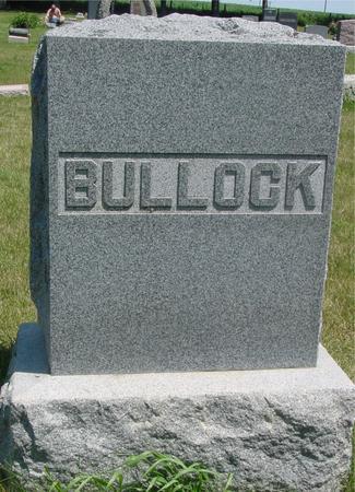 BULLOCK, DANIEL  P. - Woodbury County, Iowa | DANIEL  P. BULLOCK