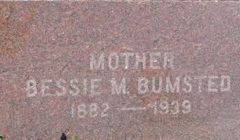 BUMSTED, BESSIE - Woodbury County, Iowa | BESSIE BUMSTED