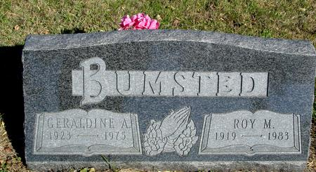 BUMSTED, ROY & GERALDINE - Woodbury County, Iowa | ROY & GERALDINE BUMSTED