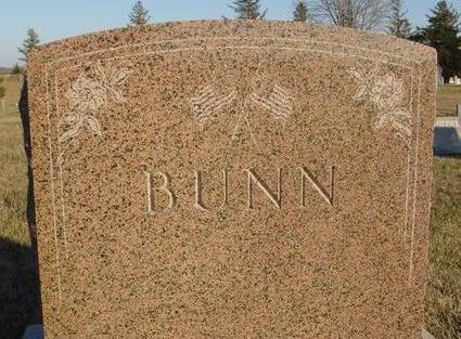 BUNN, MONUMENT - Woodbury County, Iowa   MONUMENT BUNN