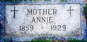 COMISKEY BURGESS, ANNA - Woodbury County, Iowa | ANNA COMISKEY BURGESS