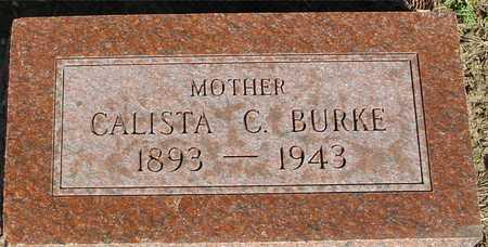 BURKE, CALISTA C. - Woodbury County, Iowa | CALISTA C. BURKE