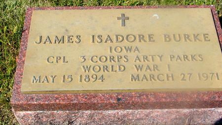 BURKE, JAMES ISADORE - Woodbury County, Iowa | JAMES ISADORE BURKE