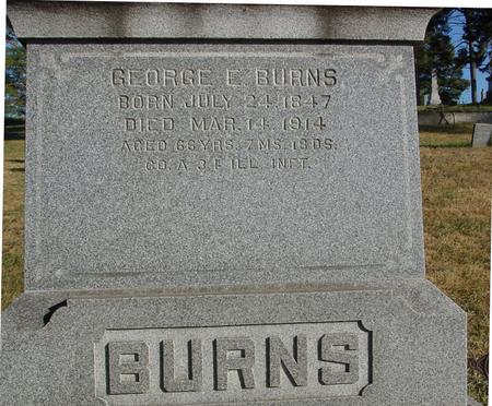 BURNS, GEORGE E. - Woodbury County, Iowa | GEORGE E. BURNS