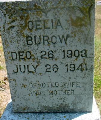 BUROW, CELIA - Woodbury County, Iowa | CELIA BUROW