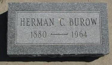 BUROW, HERMAN C. - Woodbury County, Iowa   HERMAN C. BUROW